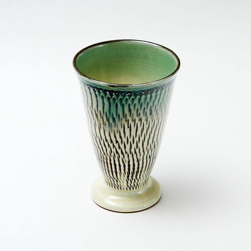 小鹿田焼 ビアグラス