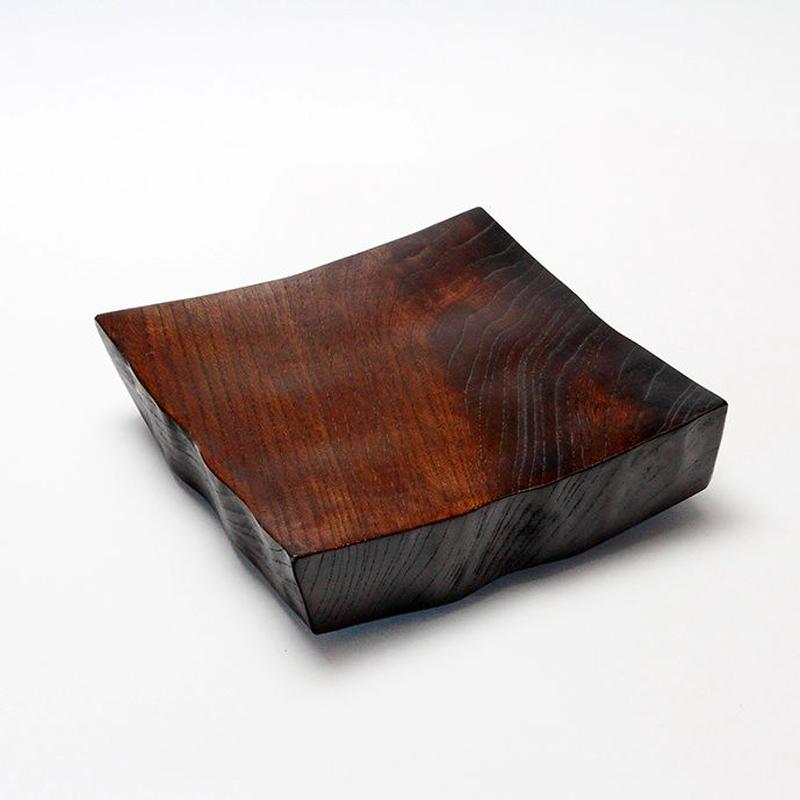 木の器 角台皿