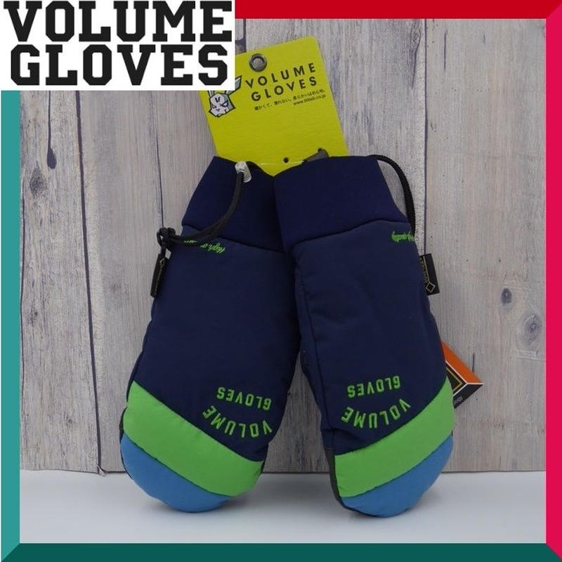 2018-2019 VOLUME GLOVES ボリューム グローブ KAMIKAZE GLOVE NAVY.GRASS.D-BLUE Lサイズ
