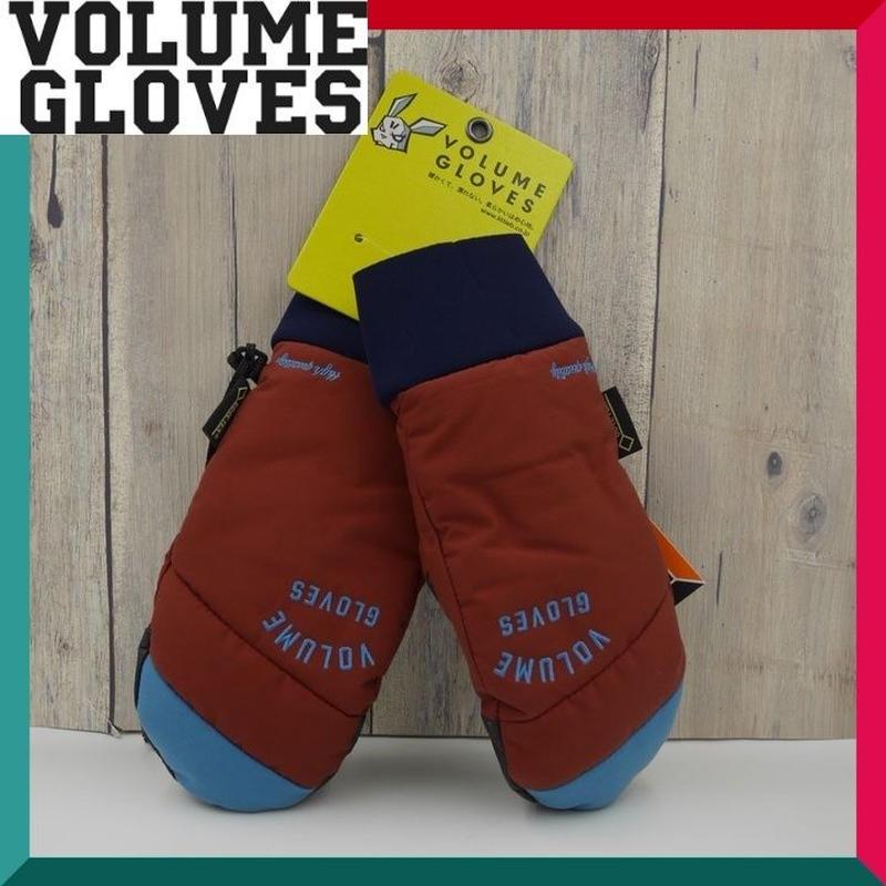 2018-2019 VOLUME GLOVES ボリューム グローブ KAMIKAZE GLOVE BURGUNDY.D-BLUE Mサイズ