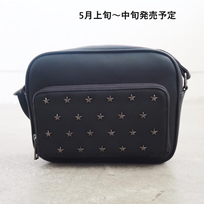 お財布機能付き星スタッズショルダーバッグ【WCJ-MT-032】
