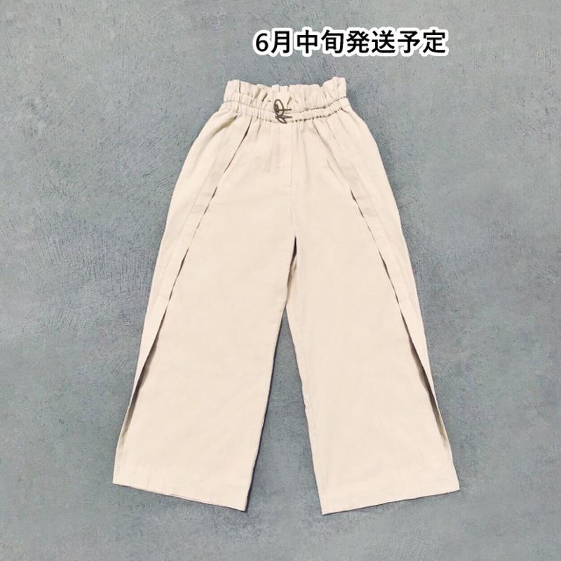 ワイドフレアパンツ【WCJ-GN-006BE】
