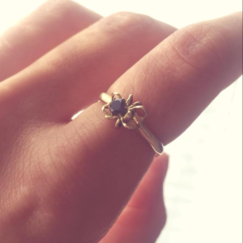 朝蜘蛛ring