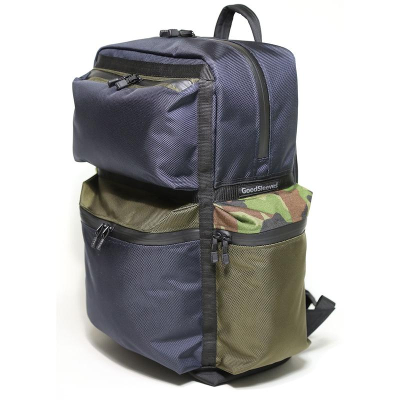 BackPack M【Navy x Khaki x Camouflage】