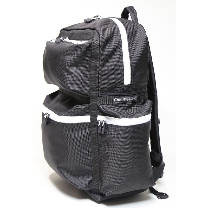 BackPack M【Black & White Zipper】