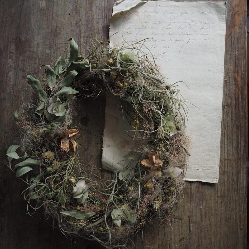 フェミニンなdry wreath