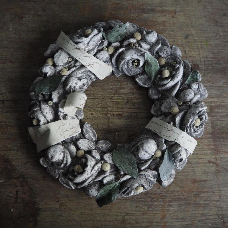 stone rose リース型objet