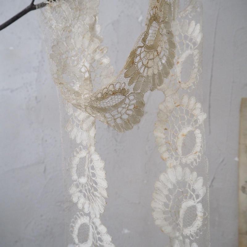 antique silk lace