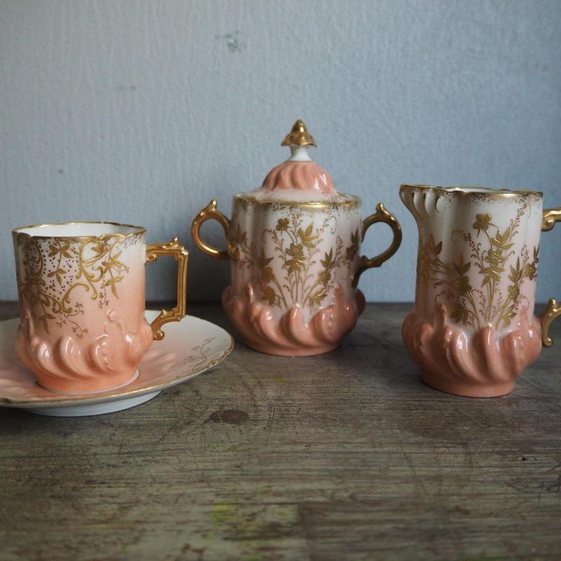 Limoges antique cup  set