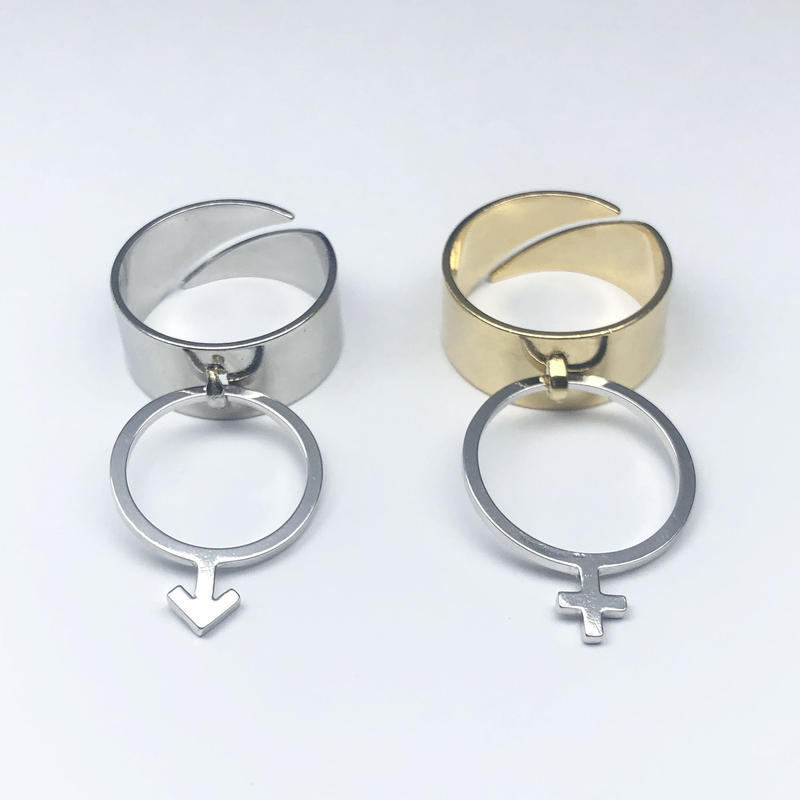 《18 SPECIAL》#004 ♂♀ ring