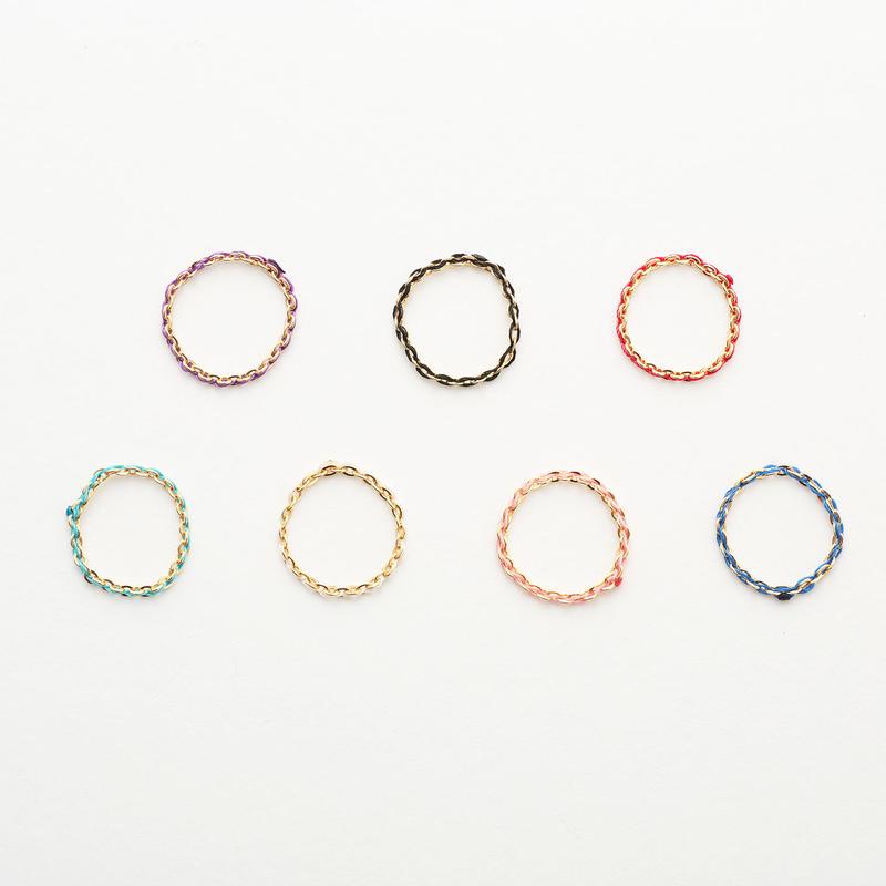 Niji ring (L) #8