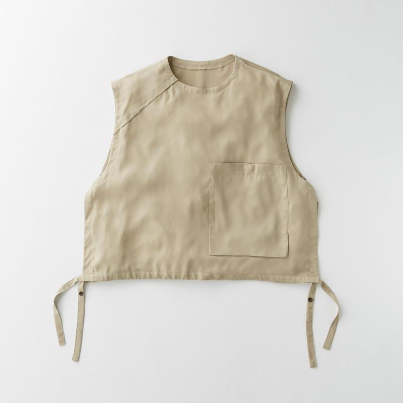 Spun  cupra Pullover vest (Beige)