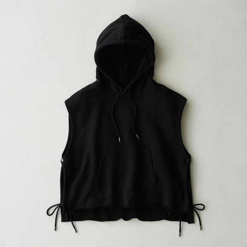 Vest Hoodie(Black)