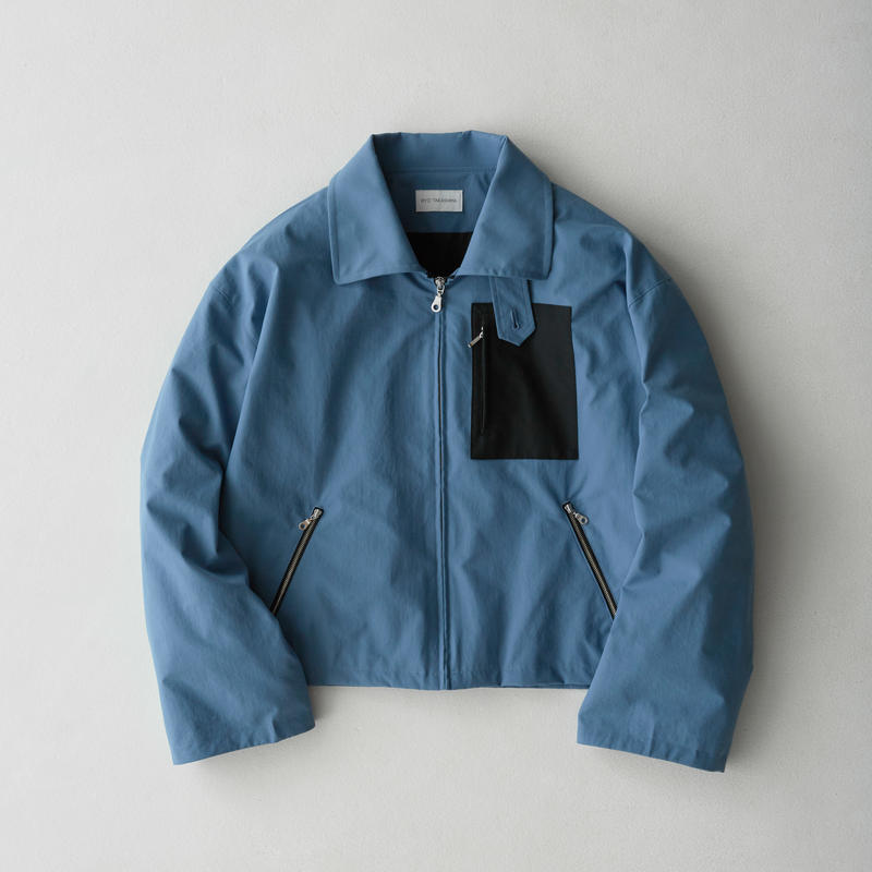 Short Length Drizzler Jacket 2nd  (Sax Blue)