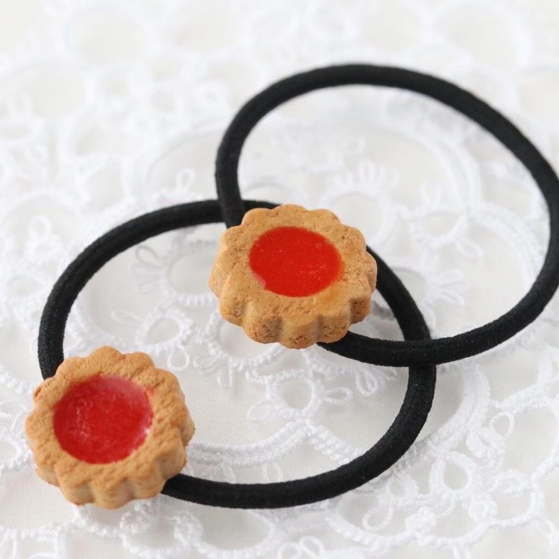 ジャムクッキー ヘアゴム(1個)