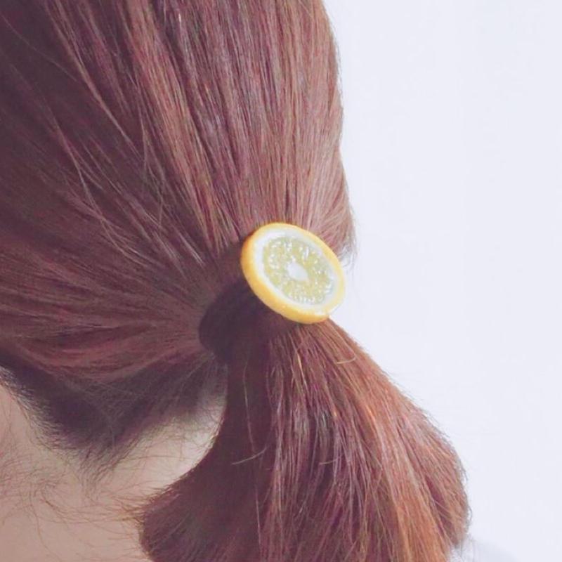 レモンヘアゴム(大)