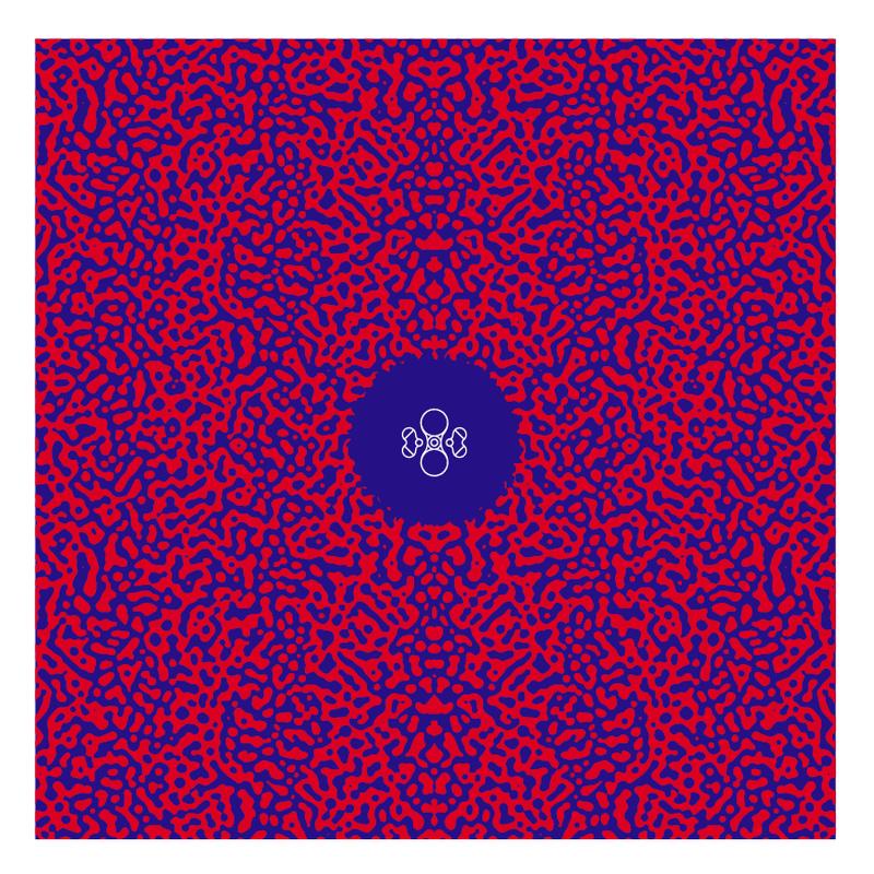 BANDANA (RED/BLUE)