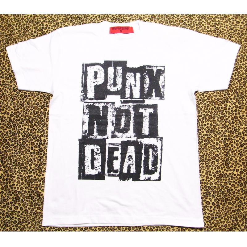 PUNX NOT DEAD  (WHITE)