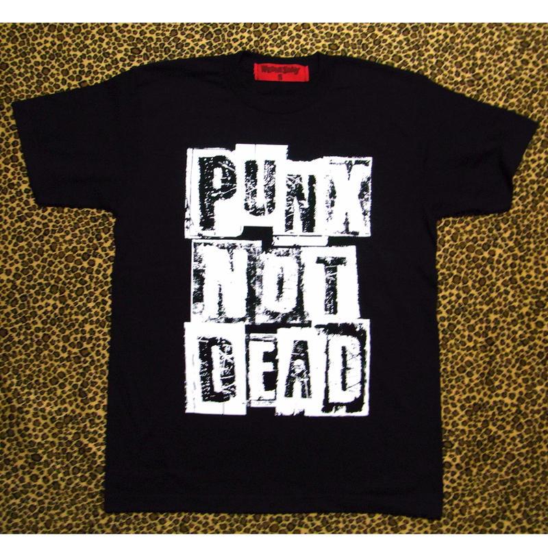 PUNX NOT DEAD  (BLACK)