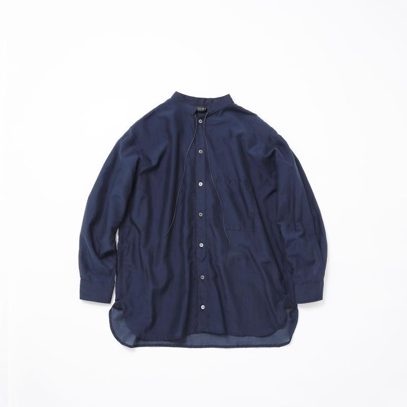 Boyfriend shirt(navy)