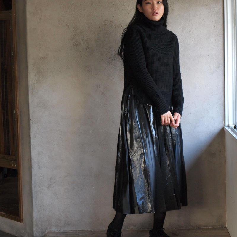 Turtleneck Knit(black)