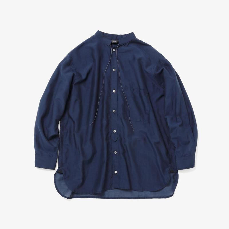 ボーイフレンドシャツ(navy)