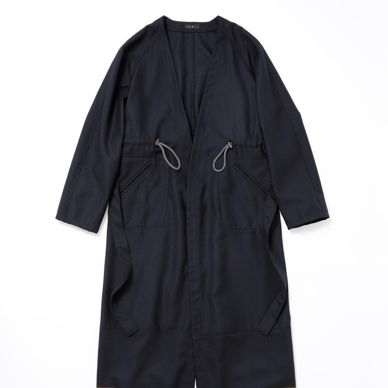 Gown(deep navy)