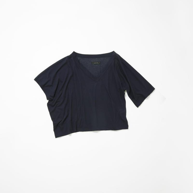 アシンメトリービッグTシャツ