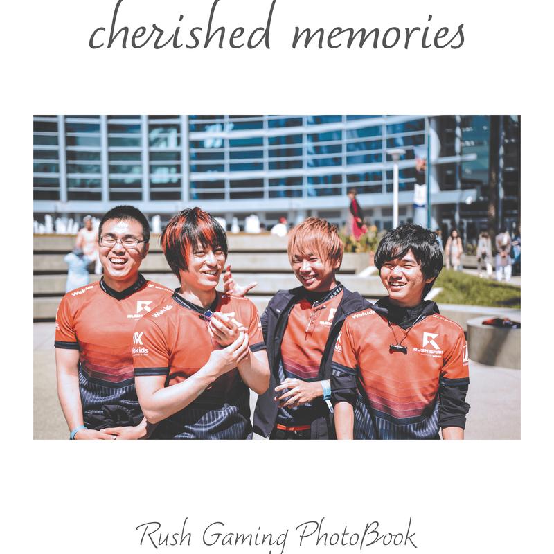 Rush Gaming Photobook