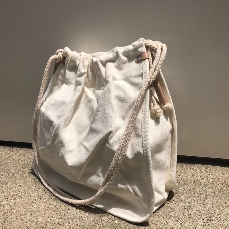 キャンバスロープショルダーバッグ