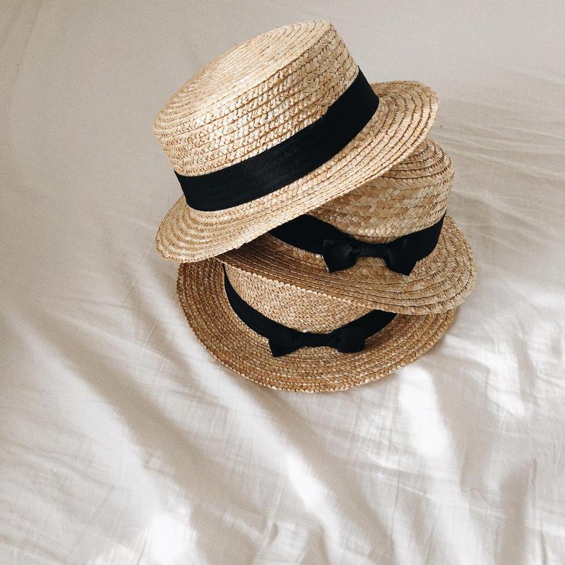 kidsカンカン帽