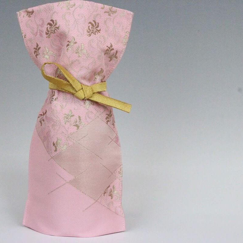 西陣織ボトルカバー【限定色:ピンク】