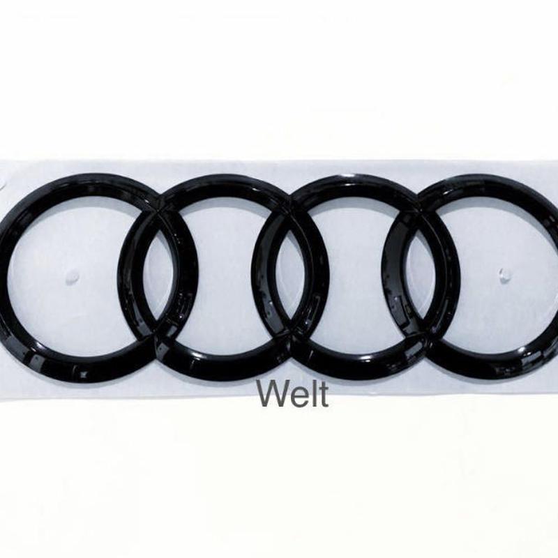 Audi 純正 RS4(8W B9) リア グロスブラックエンブレム