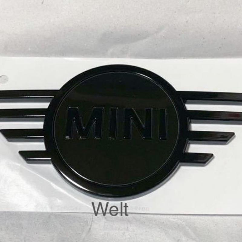 BMW MINI 純正品 ピアノブラック ボンネットエンブレム F55 F56 F57