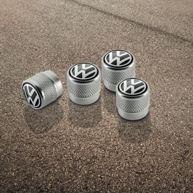 VW 純正 アルミ エアバルブキャップセット