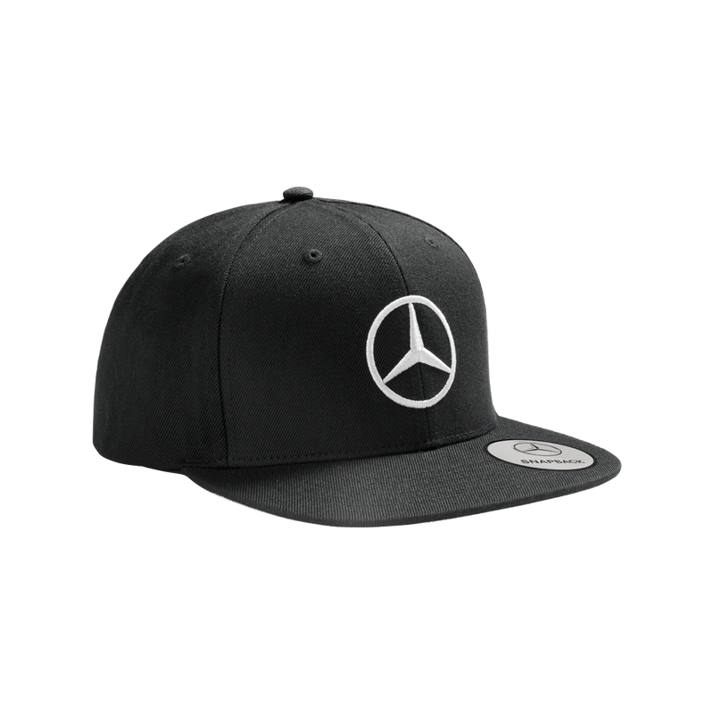 Mercedes-Benz メンズ SNAPBACK フラットブリムキャップ