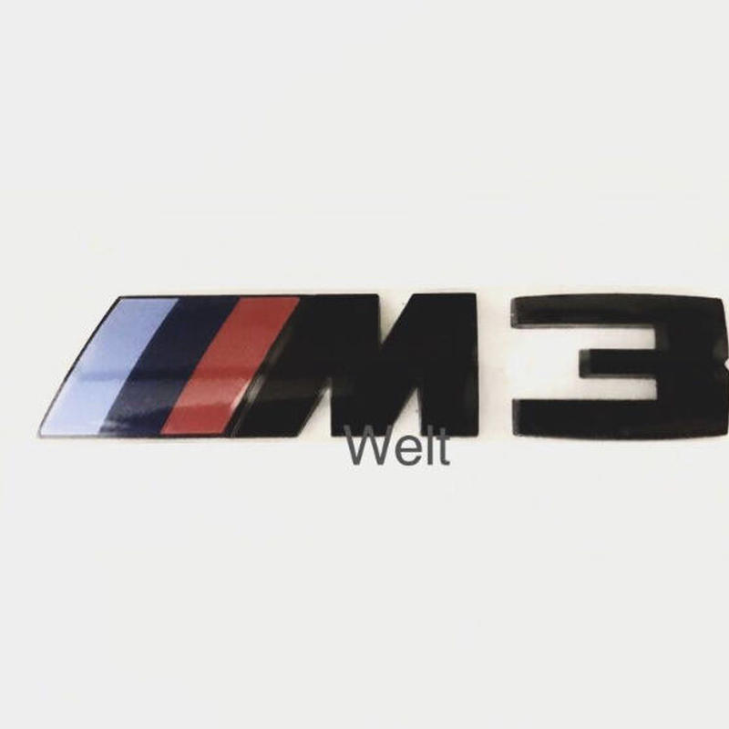BMW 純正品 F80 M3 Competition Package リア ブラック エンブレム