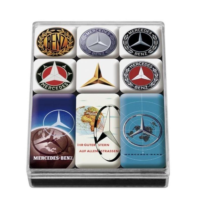 Mercedes-Benz コレクション エンブレム マグネットセット