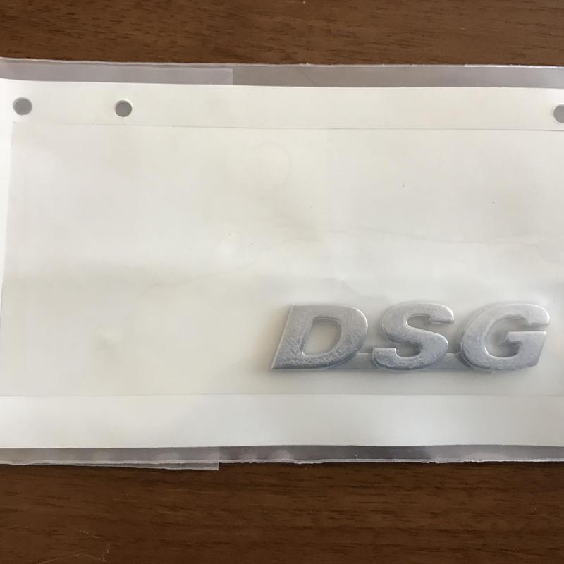 VW 純正 DSG エンブレム