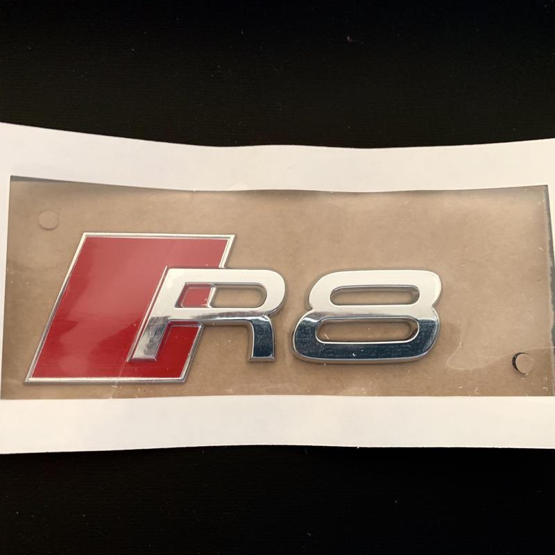 Audi 純正 R8 クロームエンブレム 420853741A