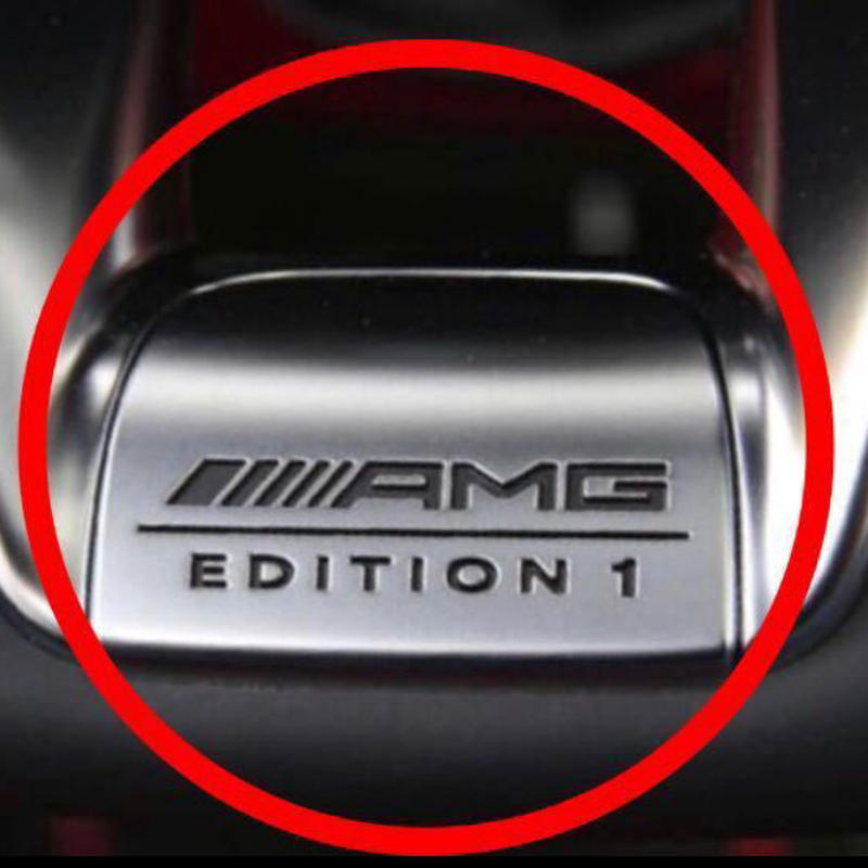 Mercedes-Benz  純正 AMG EDITION1 ステアリングエンブレムカバー