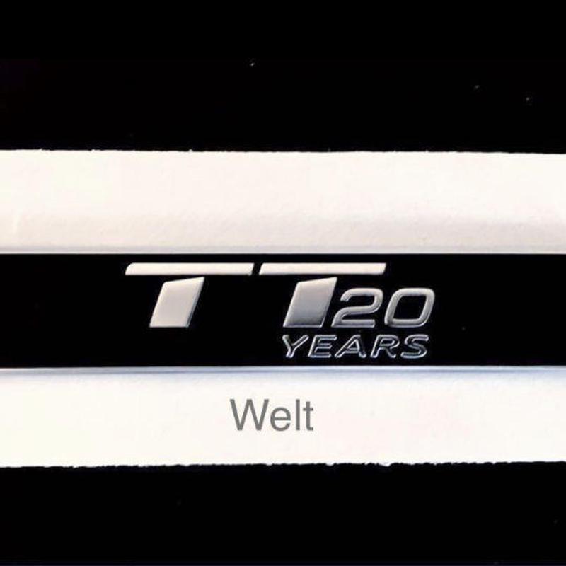Audi 純正 TT 20 YEARS サイドエンブレム