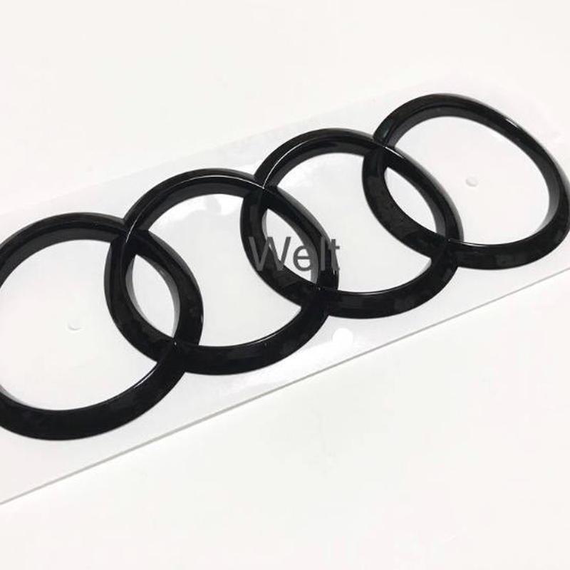 Audi 純正 RS5(F5 B9) リア グロスブラックエンブレム