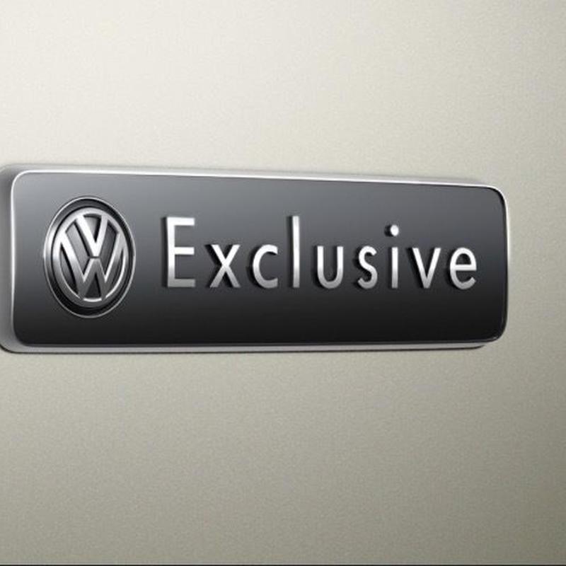 VW Exclusive サイドエンブレム