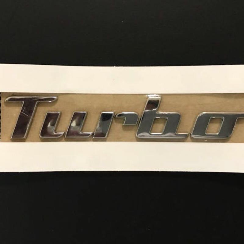 VW 純正 ザ・ビートル Turbo リア エンブレム