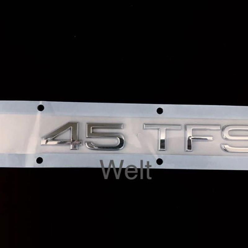 Audi 純正品 45 TFSI リアエンブレム ( A4 A5 Q3 Q5 TT )