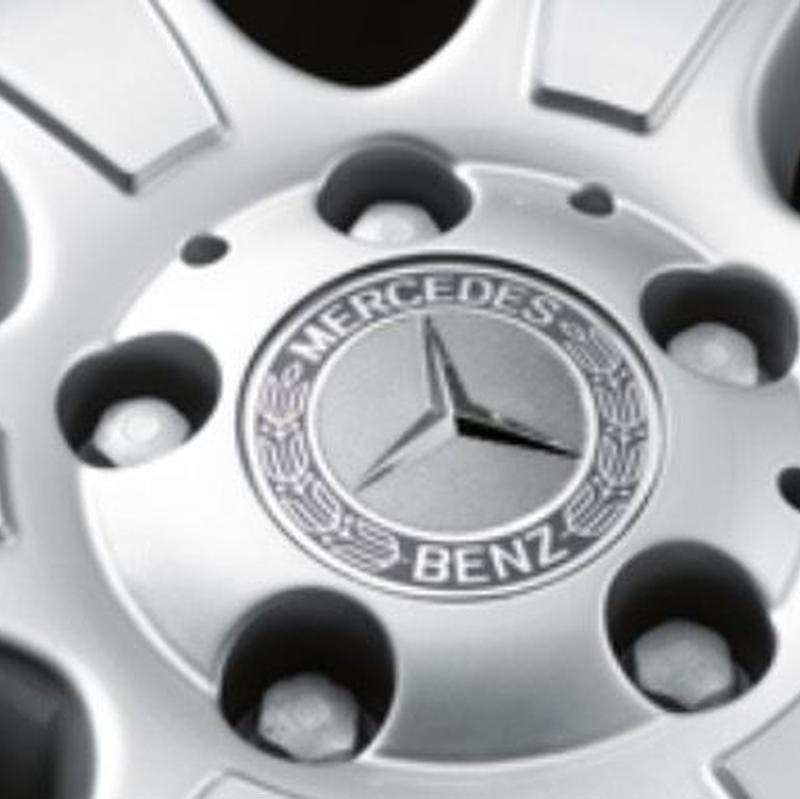 Mercedes-Benz 純正 ホイールハブキャップ (グレー) A1714000125 7P70