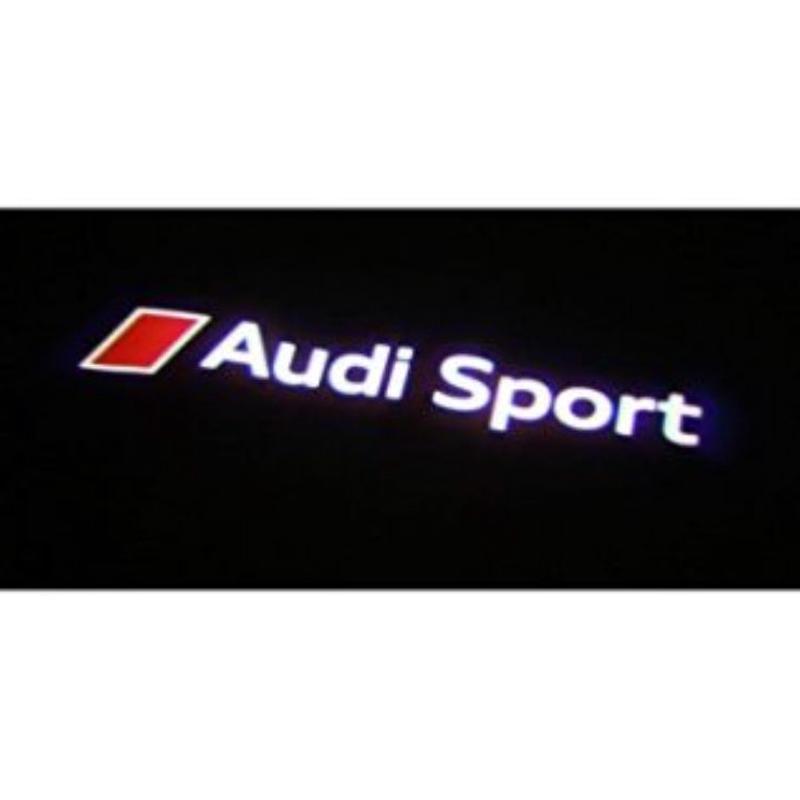 Audi 純正  Audi Sport ロゴ LED プロジェクター カーテシランプ