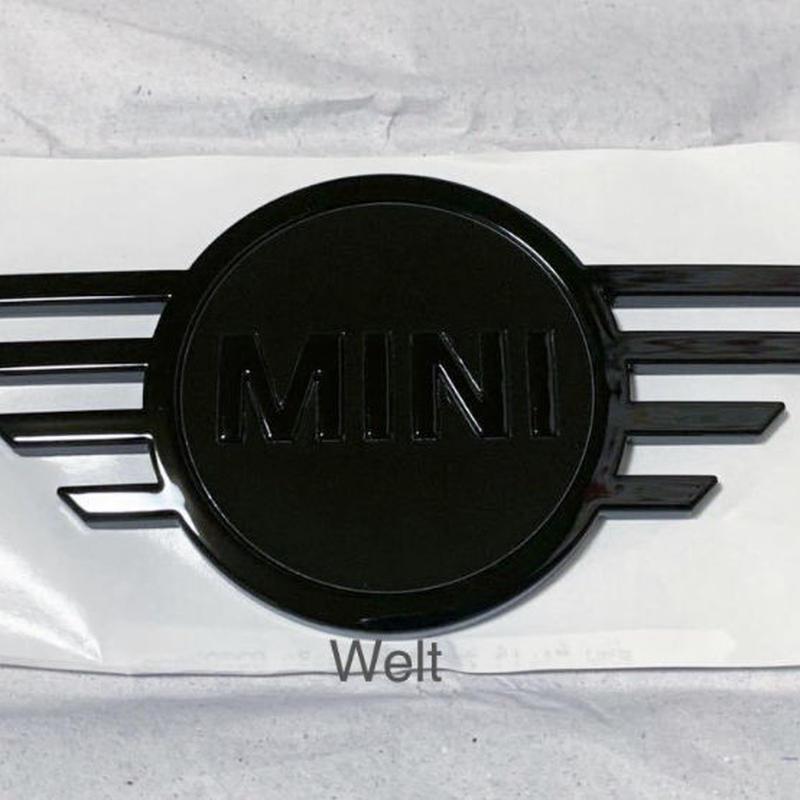 BMW MINI 純正品 F54 ミニ クラブマン ピアノブラック ボンネット エンブレム