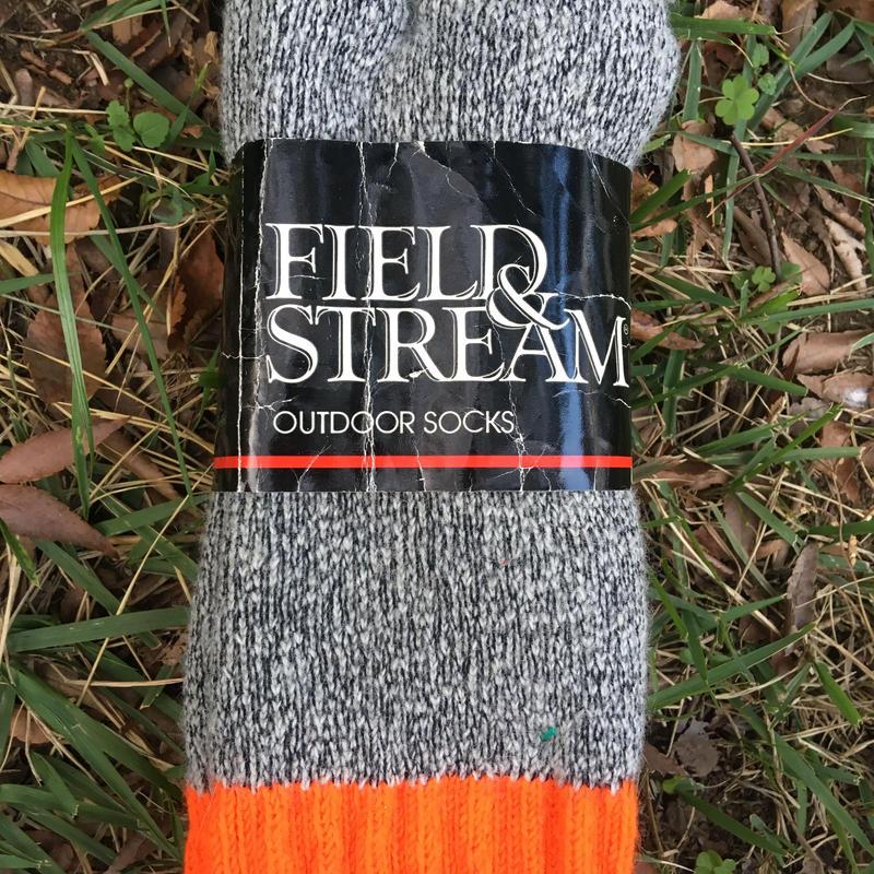 Dead stock outdoor socks